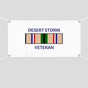 DESERT STORM VETERAN Banner