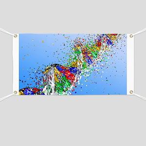 DNA damage, computer artwork - Banner