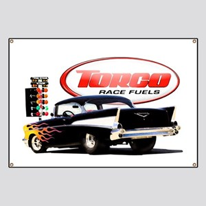 57 Chevy Dragster Banner
