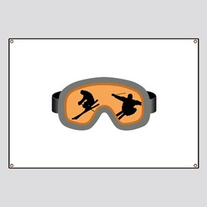 SKIERS GOGGLES Banner