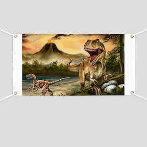 Predator Dinosaurs Banner