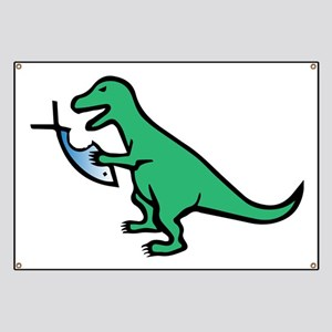 Atheism and T-Rex Banner