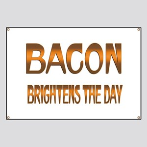 Bacon Brightens Banner