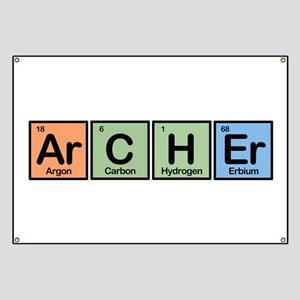 Archer made of Elements Banner
