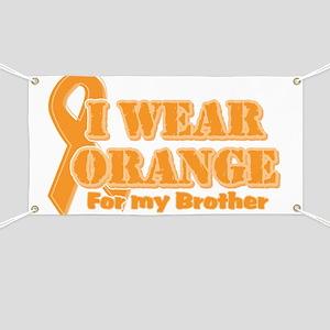 I wear orange brother Banner
