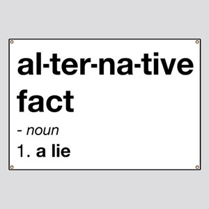 Alternative Facts Definition Banner