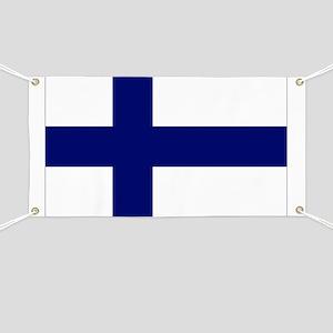 Finland flag Banner