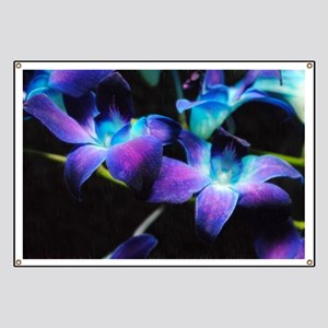 Two Purple Orchids Banner