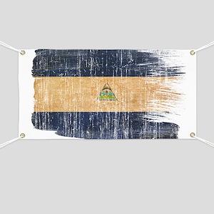 Nicaragua Flag Banner
