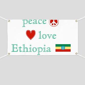 PeaceLoveEthiopia Banner