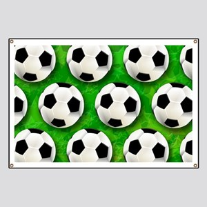 Soccer Ball Football Pattern Banner