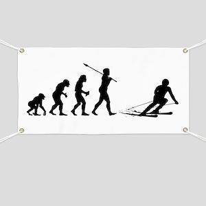 Skier Banner
