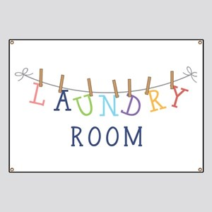 Laundry Hanging Banner