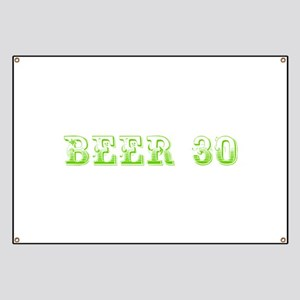 Beer 30-Max l green 500 Banner