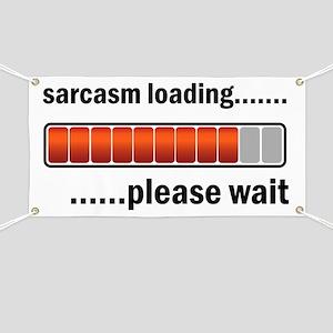 Sarcasm Loading Banner