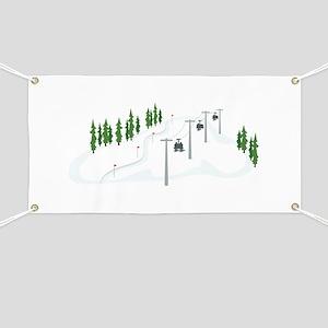 Ski Lift Banner