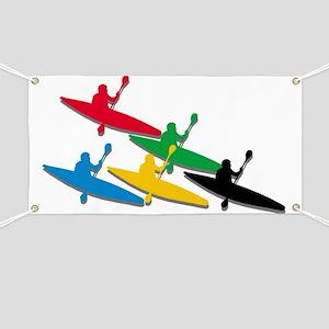 Kayak Canoe Banner