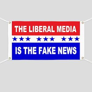 Liberal Fake News Banner