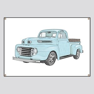 1950 Ford F1 Banner