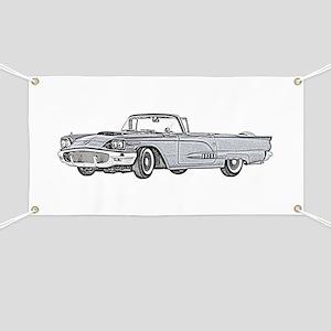 1958 Thunderbird Banner