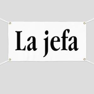 La jefa Banner