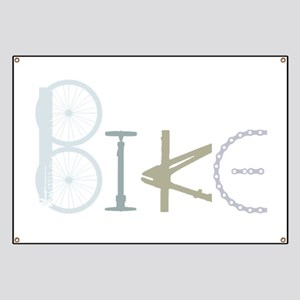 Bike Word from Bike Parts Banner