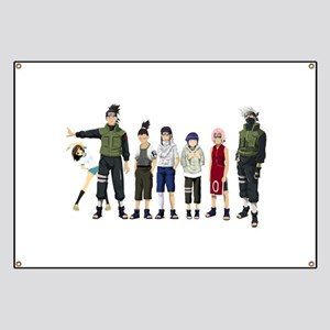 Anime characters Banner