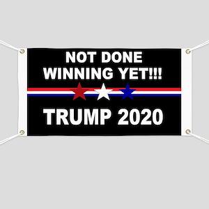 Not done winning yet! Banner