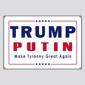 Trump Putin 2016 Banner