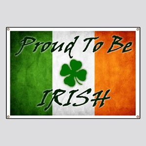 Proud to be IRISH Banner