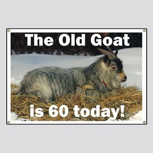 Old Goat is 60 Today Banner