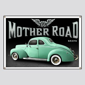Mother Road - Mint Banner