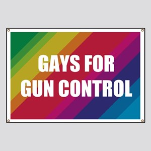 Gays For Gun Control Banner