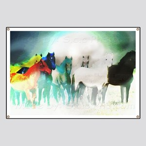 7 Seven Horses Banner