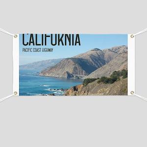 California Pacific Coast Highway 1 Bixby Br Banner