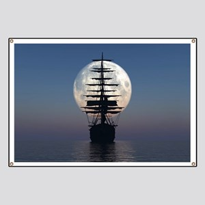 Ship Sailing In The Night Banner