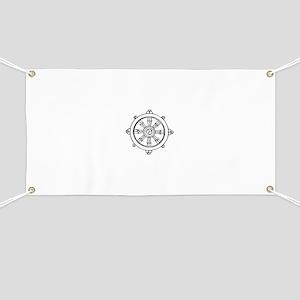 Dharma Wheel Banner