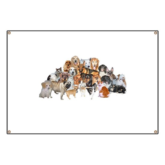 Other Dogs And Cats Banner By Doggie Town Cafepress