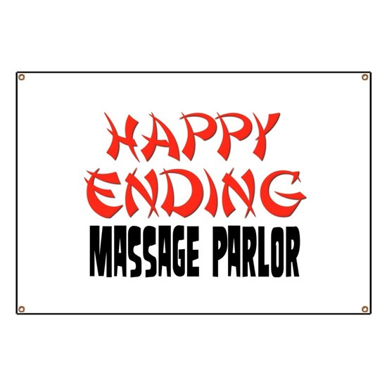 Massage parlor with happy endings