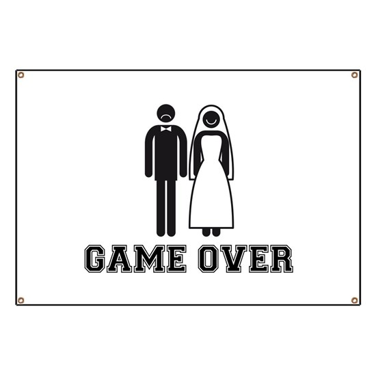 wedding couple game over