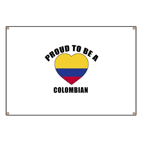 Proud To Be A Colombian