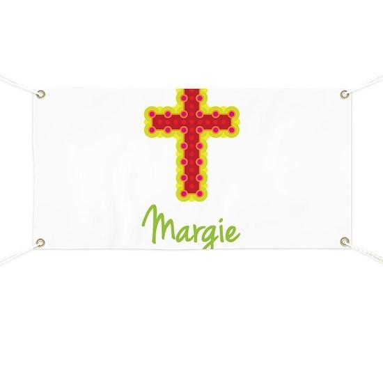 Margie Bubble Cross Banner