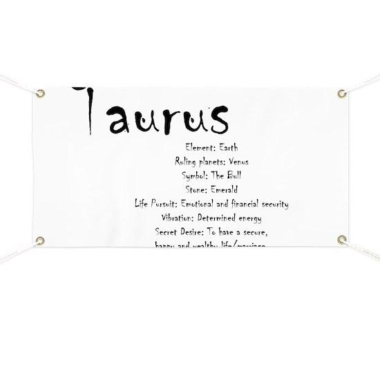 Taurus Traits Banner