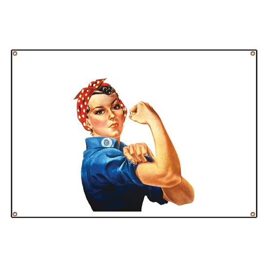 Vintage Rosie the Riveter
