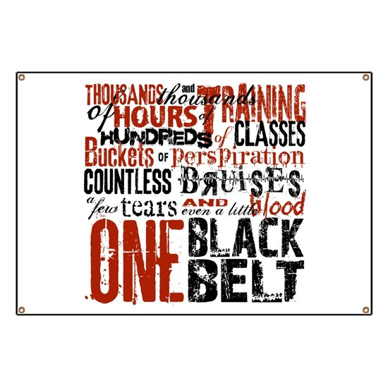 One Black Belt