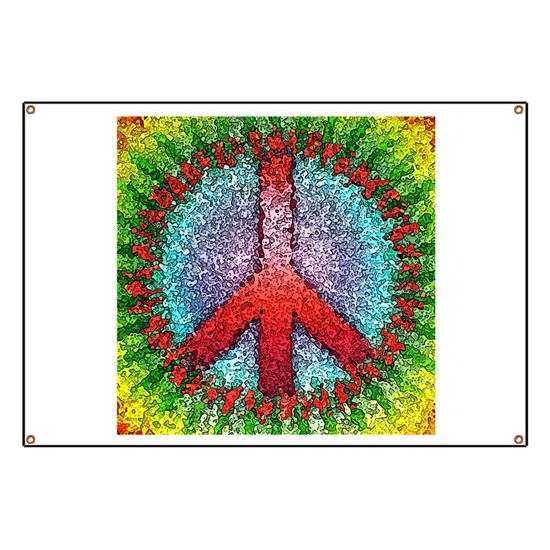 Abstract Peace Sign