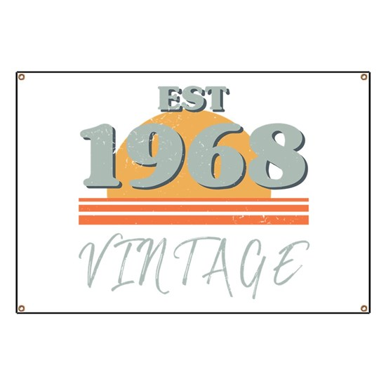 1968 Birthday Retro