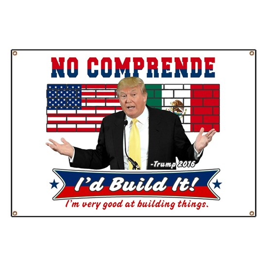 Trump 2016 Mexico US Wall