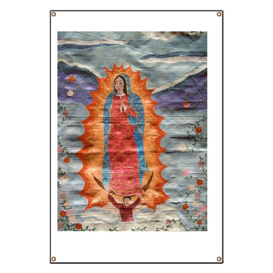 Our Lady of Guadalupe (Papyrus)