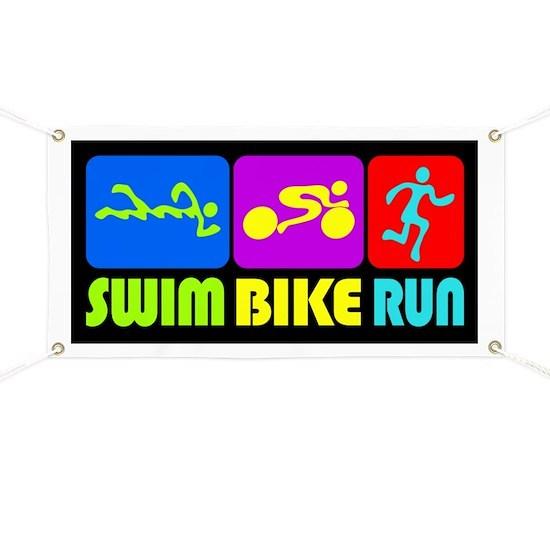 TRI Swim Bike Run Figures